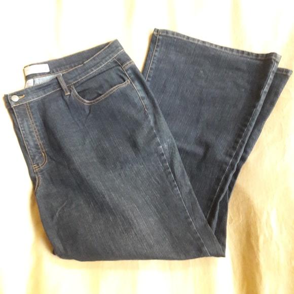 774d449e222 Lane Bryant Denim - 🔻DROP! Venezia flare wide leg blue jeans plus 24
